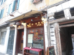 First Kosher restaurant in Venice