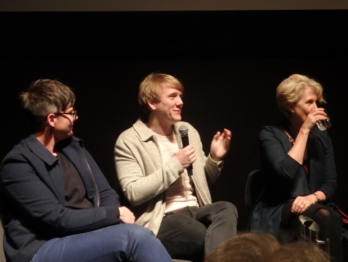 Hannah Gadsby, Josh Thomas and Debra Lawrence