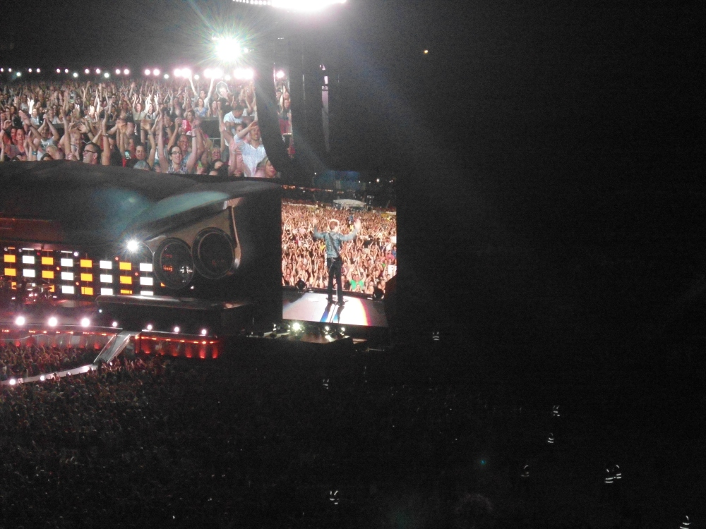 Bon Jovi and his fans
