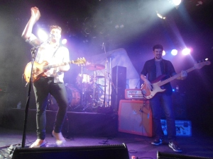 Dan Sultan and his band - Photograph by Lillian Altman
